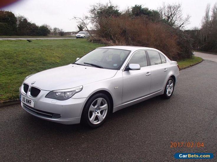 BMW 520d SE Auto Sat Nav Full Black Leather 2 Owners #bmw #520 #forsale #unitedkingdom
