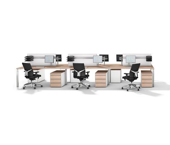Desking systems | Desk systems | Winea Pro | WINI Büromöbel. Check it out on Architonic