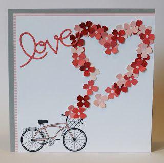 Heute gibt es einen Blog Hop zum Thema Valentinstag vom Team 'Tigerlily'!      Ganz ehrlich: Bei uns gibt es keinen Valentinstag. Mein Mann ...