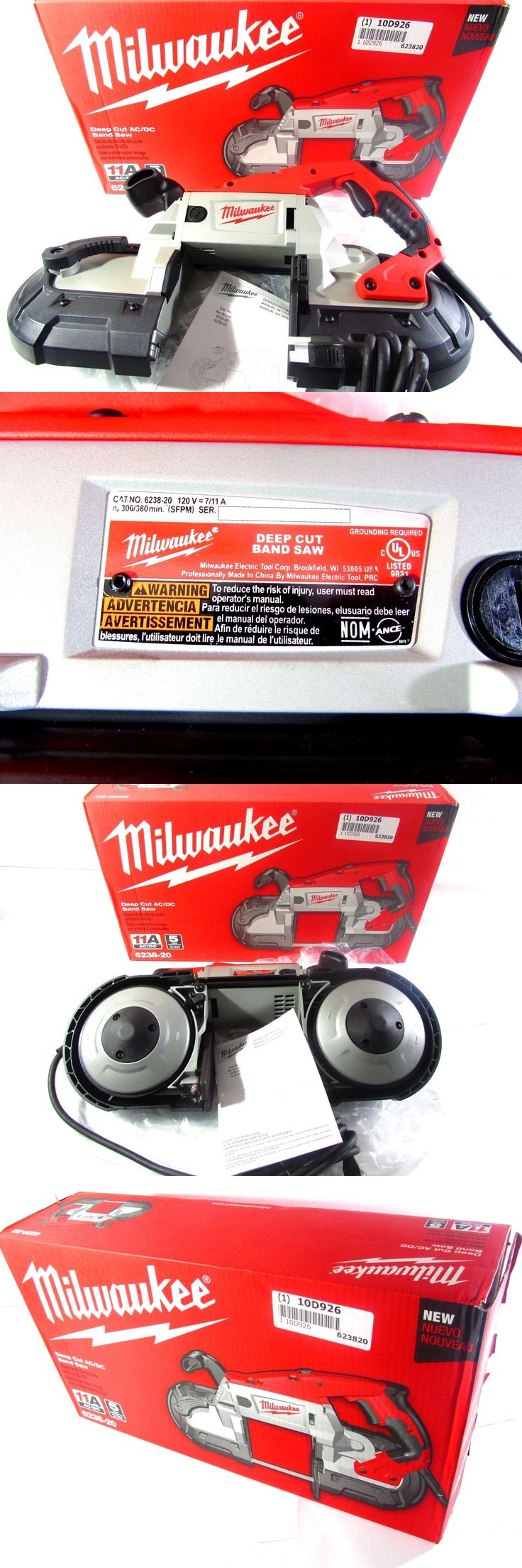 Band Saws 177016: Milwaukee 6238-20 Deep Cut Ac Dc Band Saw -> BUY IT NOW ONLY: $259.95 on eBay!