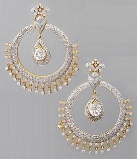 Modern Jewellery Designs: Bridal Earrings