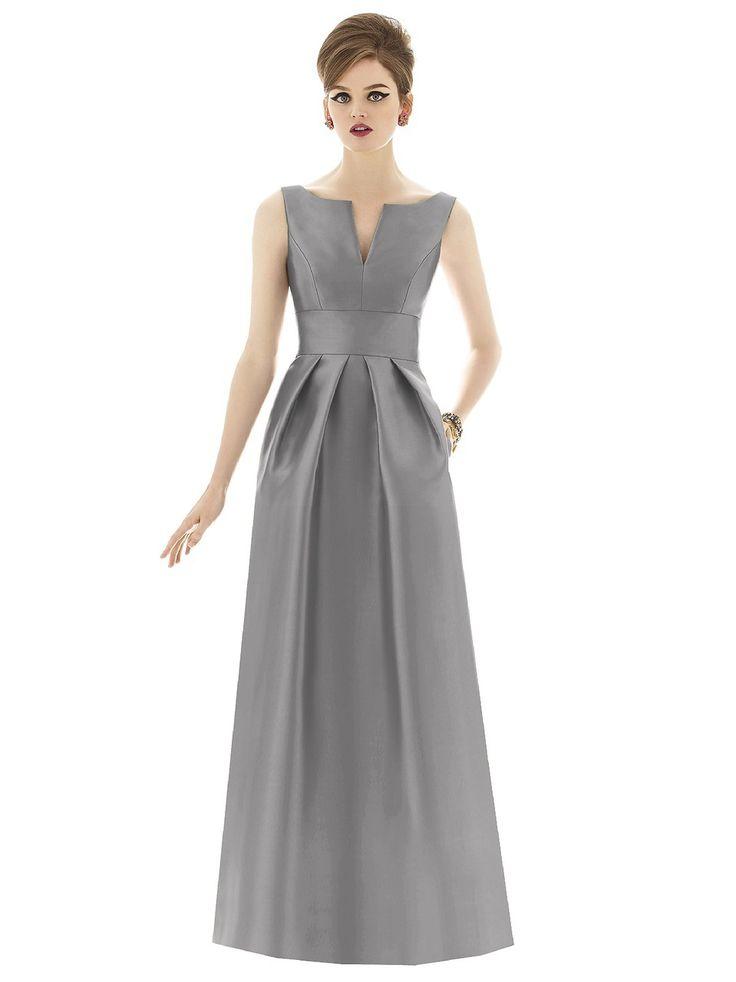 Alfred Sung Bridesmaid Dress Style - D655 | Blush Bridal