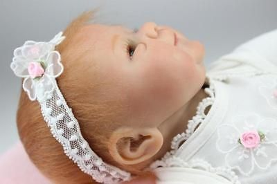 nice 1845cm Lifelike Adorable Newborn Baby Doll Soft Vinyl Handmade Reborn Baby Doll - For Sale Check more at http://shipperscentral.com/wp/product/1845cm-lifelike-adorable-newborn-baby-doll-soft-vinyl-handmade-reborn-baby-doll-for-sale/