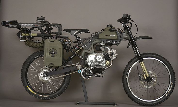 Motoped Survival Edition | OffGrid | Pinterest | Bike, Motorcycle and Motorbikes