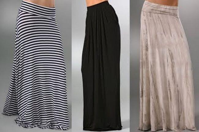 Длинная юбка пошить самостоятельно