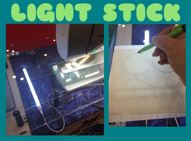 New Light Stick!  Light up your Sewing work space with this LED light stick.