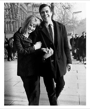 Julie Christie and Dirk Bogarde in 'Darling'