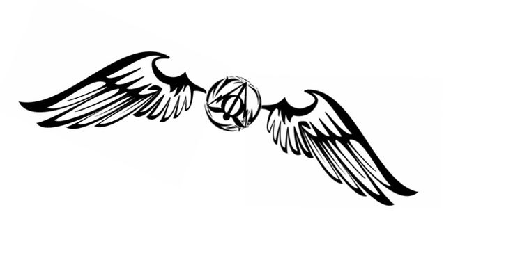 dreamingemptydreams:  I want to get a Harry Potter tattoo but I don't know which one: Snitch or Deathly Hallows? So I combined the two and c...
