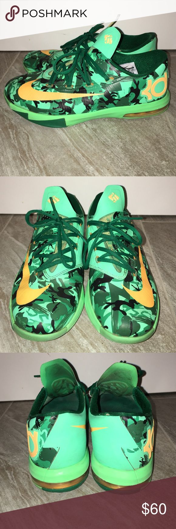 Kevin Durant Nike shoes Kevin Durant Nike shoes y7 great condition!! Nike KD Shoes Sneakers