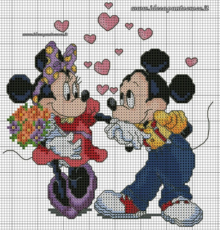 Minnie & Mickey sweethearts 1 of 2