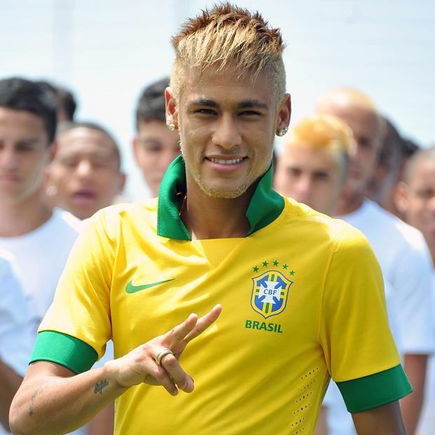 Neymar Jr Blonde Hair