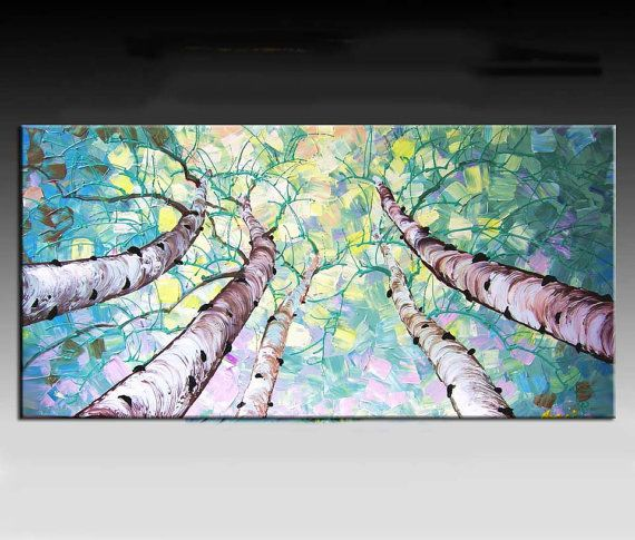 Abstract Painting  Landscape painting HUGE Original DEEP by art53, $349.00