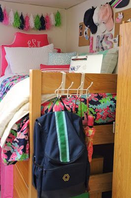 Daily Dose of Prep Preppy Dorm  Lilly Pulitzer Dorm Room Madeline and Company