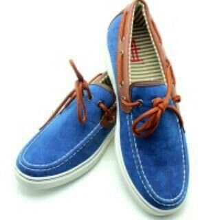 Blue loafers (42)