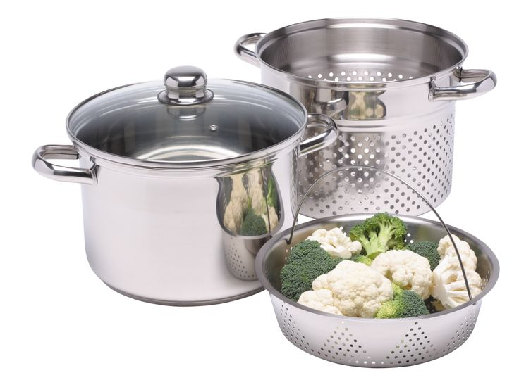 A totally versatile cooking accessory, the Clearview Multi Function Steamer can be used as a steamer to help retain vitamins, minerals, flavour, colour and texture in food, often lost when boiling. With two lift out baskets, the steamer can also be used as a traditional stockpot, colander, and pasta cooker.