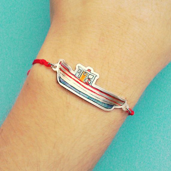 Zante Boat Bracelet // Friendship Bracelet /Stack by Stories2Wear
