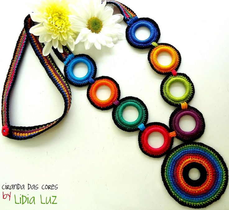 crochet beauty necklaces, more crochet ideas | make handmade, crochet, craft
