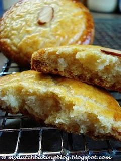 gevulde koeken. [almond filled cookies]