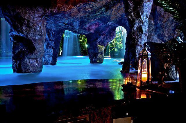 Grotto pool.
