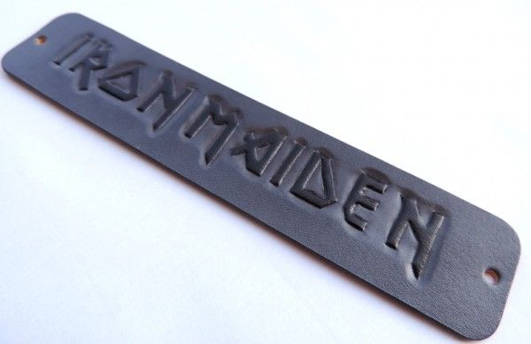 Iron maider handmade leather bracelet