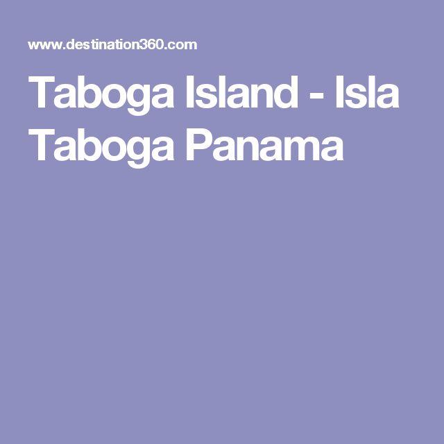 Taboga Island - Isla Taboga Panama