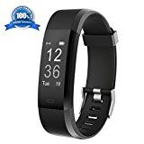Fitness Tracker HolyHigh YG3 Plus HR Heart Rate Monitor Activity Tracker with Waterproof/Pedometer/Call Message Alert/Sleep Monitor/Control Camera Mode/Calorie/Sedentary Reminder for Android and iOS