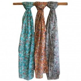 Wholesale Fine Multi Prints Scarves - HipAngels.com #Create_Amazing_Outfits #Quality_Scarves #Quality_Scarf