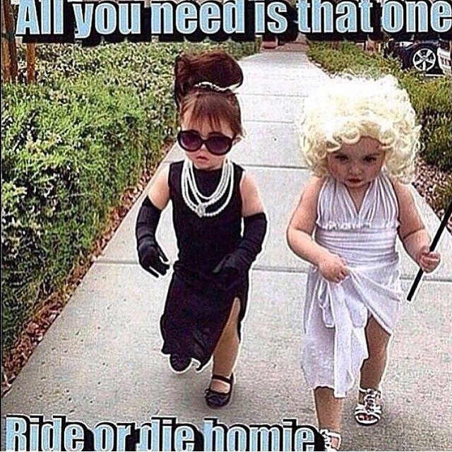shout out to my ride or die blondie. Funny, Homies, Besties