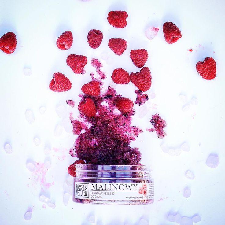 "Polubienia: 153, komentarze: 6 – Fresh&Natural (@fresh.and.natural) na Instagramie: ""Raspberry LOVE ❤️ Malinkowe LOVE 😍 #cosmetics #body #raspberry #scrub #instagood #uk #organic…"""