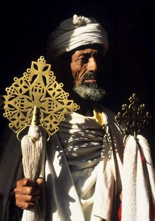 Religioso de Etiopía.