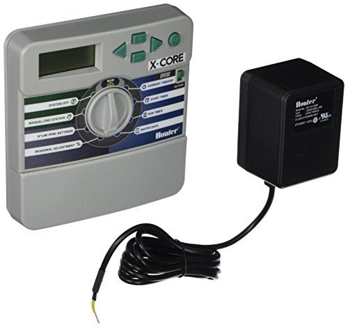 Hunter Sprinkler XC600i X-Core 6-Station Indoor Controller Timer 6 Zone > Compatible with Hunter's ROAM Remote Control Control up to 6 Stations with 3 Programs and 4 Start Times each Hunter Quick Check helps troubleshoot field wiring issues Check more at http://farmgardensuperstore.com/product/hunter-sprinkler-xc600i-x-core-6-station-indoor-controller-timer-6-zone/