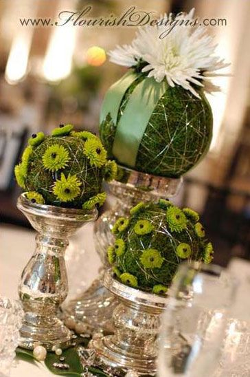 Best wedding pomanders hanging and table flower