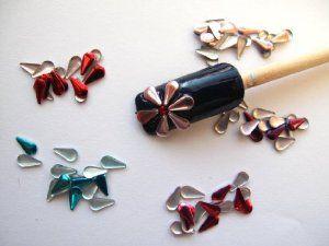 Nail Art 250 Pieces Mix 5mm TEAR DROP Metal Studs for Nails, Cellphones by 3d nail art. $3.25. *** Nail Art 250 pieces Mix  5mm TEAR DROP Metal Studs for Nails, Cellphones ***  ***Quantity : 250 Pieces ( 50 pink, 50 hot pink, 50 red, 50 blue, 50 purple)