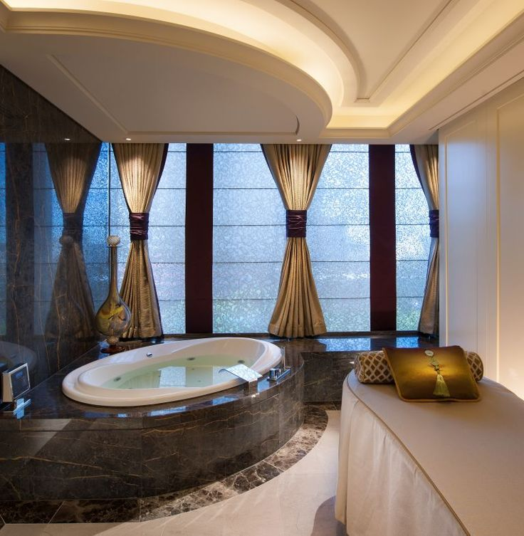 Crown Towers Spa, Melbourne.  Interiors by Michael Fiebrich Design