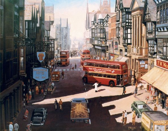 Chester in the 1950's