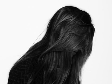 Dark hair, it was like a dark abyss of silken strands. She was a raven, and held the demeanour of a dove.
