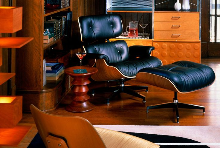 1000 ideas about eames lounge chairs on pinterest eames - Eames compact sofa replica ...