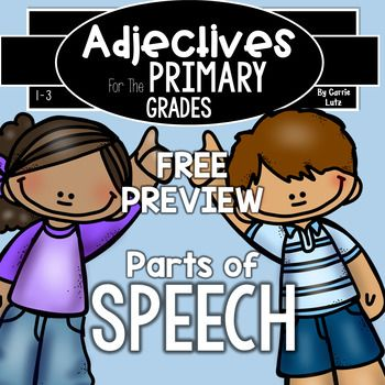 ADJECTIVE WORKSHEETS THAT ARE A FUN WAY FOR KIDS TO WORK WITH ADJECTIVES AND NOUNS.