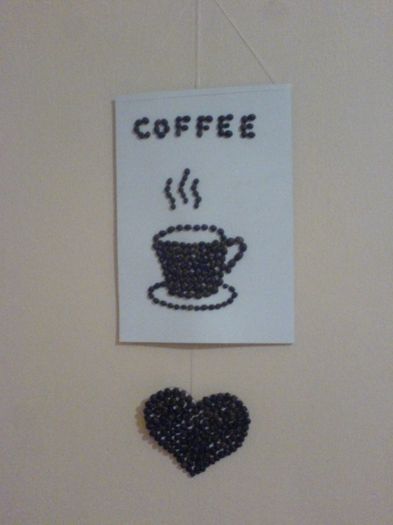 Only coffee beans and good idea