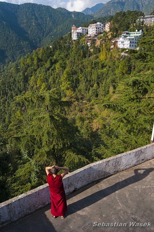 McLeod Ganj, Dharamkot, Upper Dharamsala, Himachal Pradesh_ India