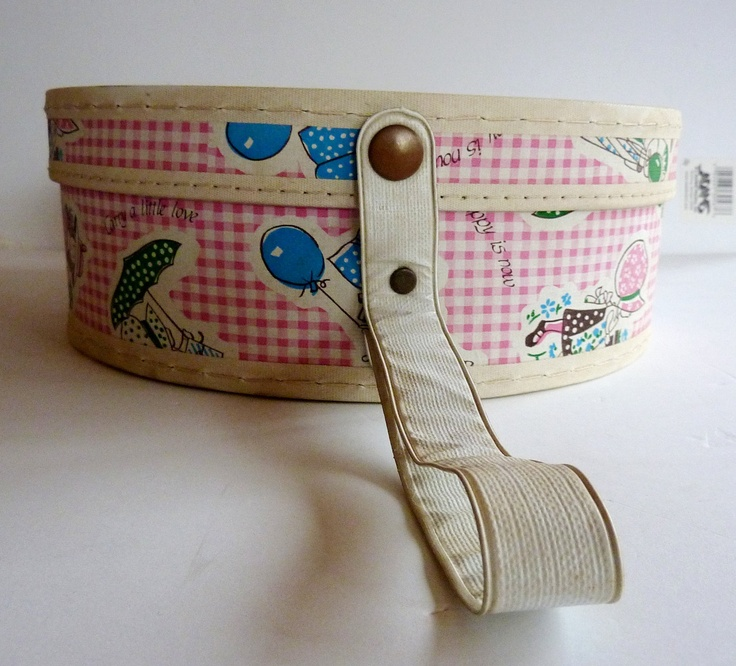1970s Holly Hobbie Doll Case.
