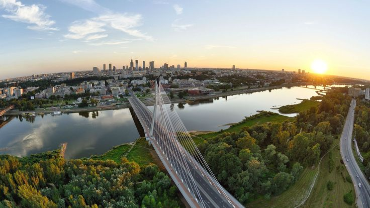 Warsaw (Warszawa) at sunset, Poland (Polska)... #Travel #Sunset #Warsaw #Warszawa #Poland #Polska .. See more... http://www.facebook.com/chris.wysocki1/media_set?set=a.487196024642468.122539.100000562257390&type=1