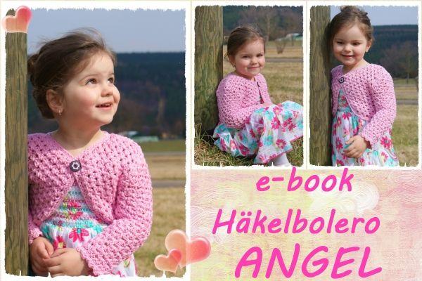 "Bolerojäckchen ""Angel"" Größe 86-122"