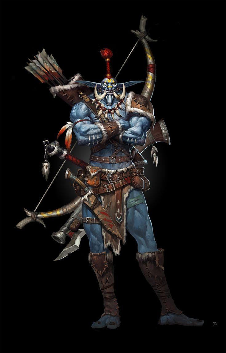 Female troll warrior wow guide