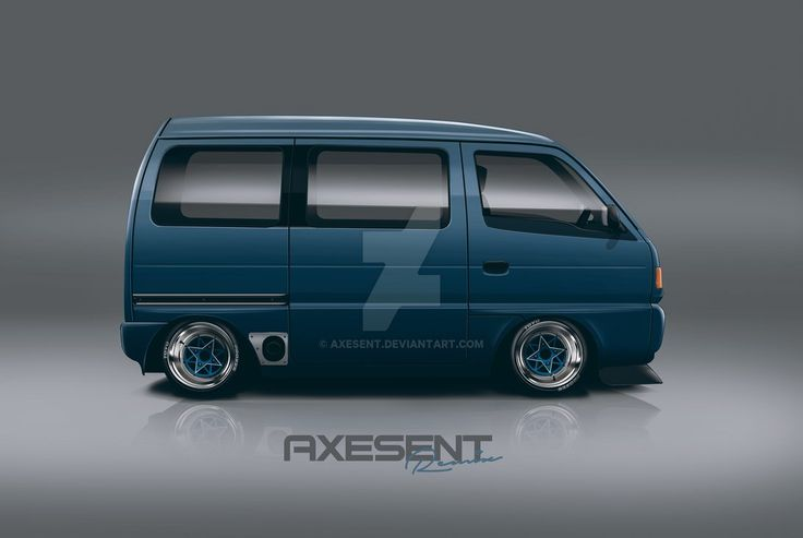Suzuki Every - Kei Ver.3 by Axesent on DeviantArt