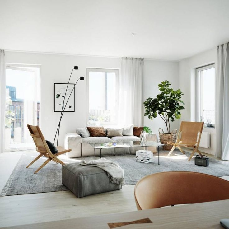 Room Redo Scandinavian Modern Minimalist Interior Design In 2020