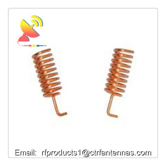 C T Rf Antennas Inc 160mhz Frequency Rf Product Spring Antenna Indoor Helical Antenna Antennas Antenna Indoor