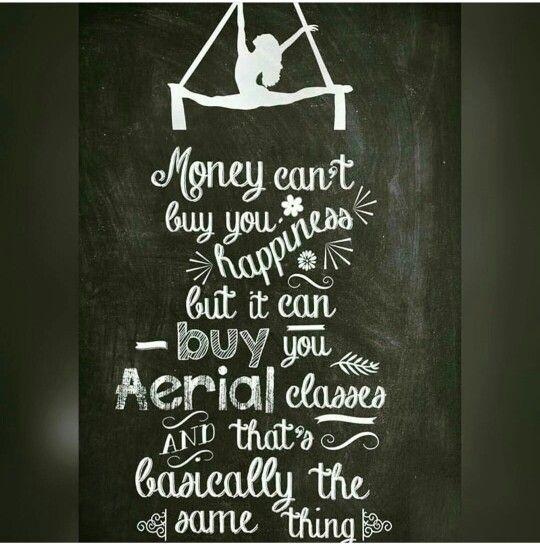 El dinero no puede comprarte la felicidad... Pero puede pagarte clases de acrobacias aereas que es basicamente lo mismo..