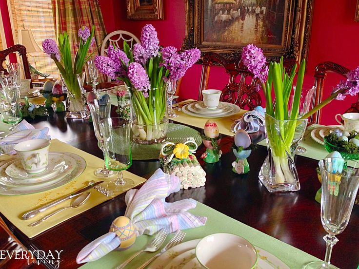 Tablescape Tuesday: Heavenly Fragrance | Everyday Living