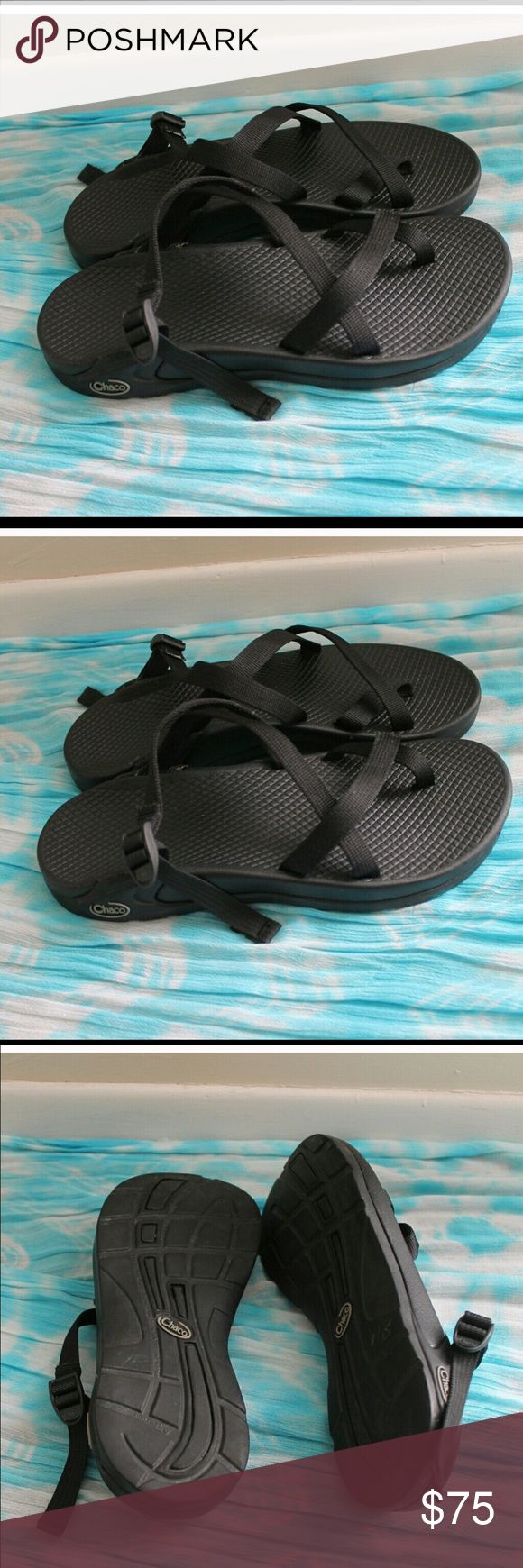 Women's size 8 black chacos Barely worn chacos. Women's size 8 Chacos Shoes Sandals
